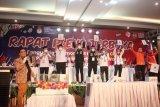 KPU Kota Makassar bagi empat zona kampanye paslon wali kota