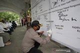 Kapolres ingatkan maklumat Kapolri dalam deklarasi kampanye damai di Palu