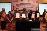 Dua pasangan calon Pilkada Surakarta deklarasi kampanye damai