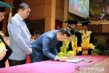 FIK-UNP MoU dengan Dispora Pekanbaru  tingkatkan pembinaan keolahragaan