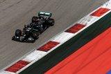 Lewis Hamilton ungguli Bottas dan Sainz di FP3 GP Rusia