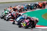 Pebalap MotoGP jajal trek Sirkuit Portimao