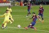 Lionel Messi cetak gol untuk Barcelona lawan Villareal di awal era Koeman