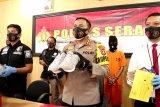 Polisi bongkar ribuan sepatu siap ekspor senilai Rp570 juta