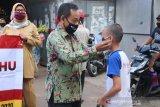 KI-Diskominfotik NTB kampanyekan penggunaan masker di RTKD sedunia
