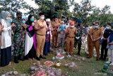 Pemkot Palu ziarah  ke pemakaman massal korban bencana