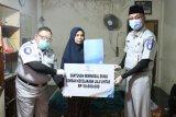 Jasa Raharja serahkan santunan anggota Polres Lombok Utara yang meninggal lakalantas