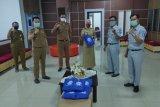 Jasa Raharja Lampung serahkan bantuan APD ke Samsat Rajabasa