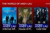Fans Andy Lau dapat saksikan  filmnya pada 27-30 September