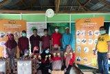 Komunitas Gerakan Peduli Santri bagikan vitamin C di ponpes