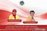 Pusat Kajian Pancasila UNP adakan workshop bagi guru PPKn SMP Se-Sumatera Barat