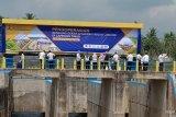 Bendung Gerak Jabung di Lampung Timur diresmikan