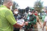 Danrem 092/Maharajalila datangi korban tanah longsor di Tarakan