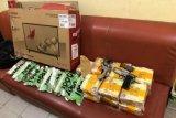 Dua orang bersenpi bawa sabu 13 kg, penangkapan diwarnai kejar-kejaran