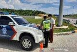 Lewati batas maksimum, tiga kendaraan ditilang di Tol Pekanbaru-Dumai