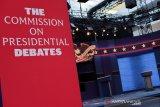 Trump, Biden saling serang dalam debat pilpres pertama AS