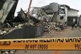 Polisi selidiki penyebab kebakaran gudang popok bayi di Malang