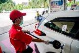 Konsumsi bahan bakar berkualitas non subsidi meningkat di Sumsel