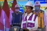 Presiden Joko Widodo resmikan jalan tol Manado-Bitung secara virtual