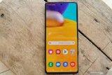 Samsung Galaxy A71, ponsel tipis jagonya bermain game online