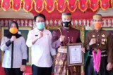 Pjs Bupati Gowa dampingi Pangdam XIV/Hasanuddin terima gelar kehormatan