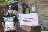 Pertagas Niaga salurkan 100 paket sembako ke warga Muara Enim