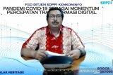 Kemkominfo: Pandemi menjadi momentum percepatan transformasi digital