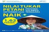 Nilai Tukar Petani Sultawesi Tenggara naik 1,62 persen pada September 2020