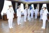 Empat pejabat Lantamal VIII naik pangkat jadi Kolonel