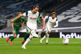 Tottenham menang 7-2 atas Maccabi Haifa untuk maju ke fase grup Liga Europa