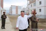 Bantu pemulihan, Presiden Kim Jong Un janjikan ribuan rumah baru