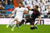 Pemain Real Madrid Dani Carvajal terancam absen dua bulan karena cedera