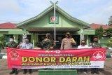 Sambut HUT TNI, Kodim Muara Teweh gelar donor darah