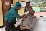 PJU Polda Papua tes usap antisipasi pencegahan COVID-19