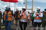 Pemprov Sulawesi Tenggara uji coba layak fungsi jembatan Teluk Kendari