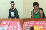 Polisi tangkap dua pengedar sabu di kawasan Jalan Dr Murjani Palangka Raya