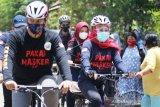 Gubernur Jatim Khofifah Kampanye Pakai Masker