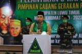 Jayadi Nas ajak GP Ansor Lutim ikut jaga pilkada serentak