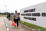 180 orang masih dirawat  di RSKI Pulau Galang