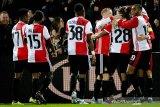 Ridgeciano Haps selamatkan Feyenoord dari kekalahan di markas  Waalwijk