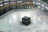 Jamaah umrah kembali ke  Mekkah