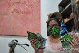 Penggiat batik difabel di Jakarta Selatan produksi masker