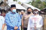 Pemkab Lombok Utara menyiapkan hunian sementara korban kebakaran