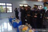 Pemkab dan TNI Polri di Sangihe ikuti upacara HUT TNI secara virtual