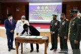 HUT ke-75 TNI, Korem 143/HO dapat hibah tanah pembangunan Kodim Kolaka Utara