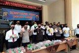Polda Jambi sita 41 kg sabu-sabu  dari  Malaysia