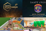 Wali Kota Tarakan terima penghargaan Indonesia Smart Nation Award