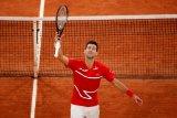 Djokovic melaju ke perempat final French Open