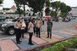 Ratusan warga Palembang terjaring operasi yustisi  disiplin masker