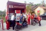 Penjualan Pertashop di Lampung rata-rata 500 liter per hari